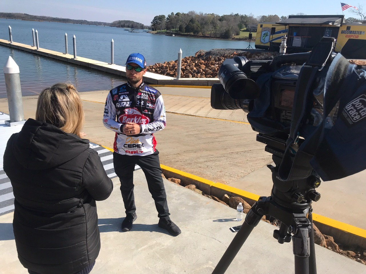Yamaha Pro Angler, Justin Lucas, talks about upcoming 48th annual Bassmaster Classic on Lake Hartwell (FOX Carolina: 3/13/2018).
