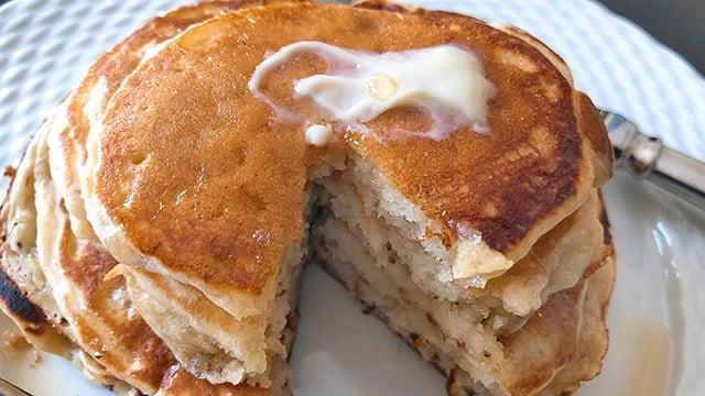 Pancakes. (Source: AP Images)
