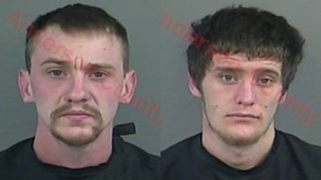 Adam Lawless (L) and Aaron Kenyon (Source: Anderson Co. Detention)