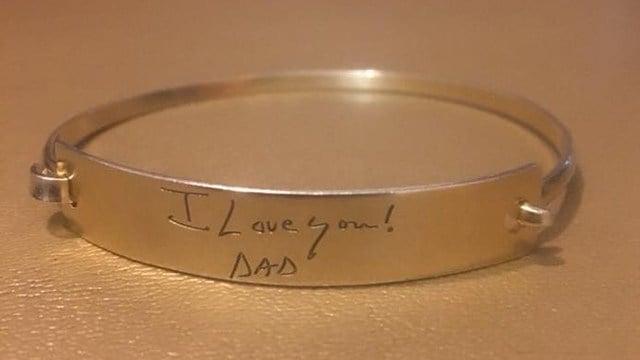 Bracelet found at SIP Whiskey and Wine Bar (Source: Chasidy Gardner)
