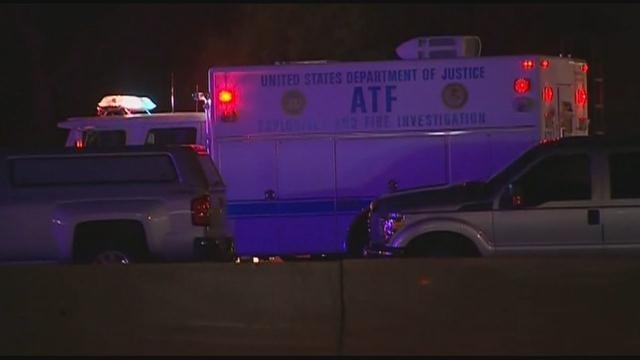 ATF vehicle at scene of shooting (Source: FOX News Edge)
