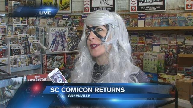 SC Comicon returns to Greenville this weekend