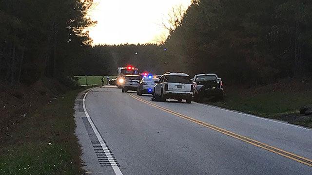 One dead in Laurens Co. crash (FOX Carolina/ 3/23/18)