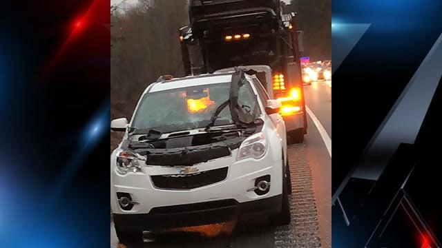 Troopers report injuries in crash along I-85 (Source: Kenny Ernesto Sanchez-duarte)