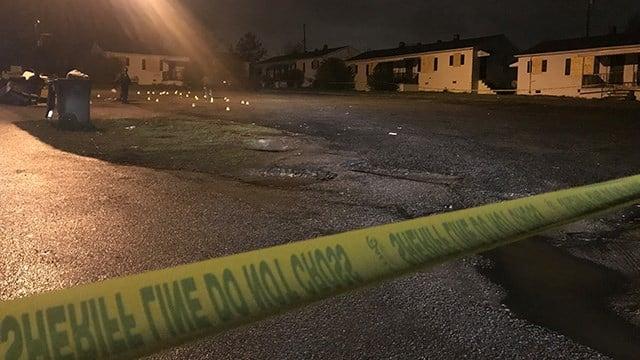 Scene of shooting on Lanford Road. (3/25/18 FOX Carolina)