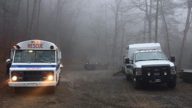 Search underway for 2 missing hikers. (Source: TCRS)