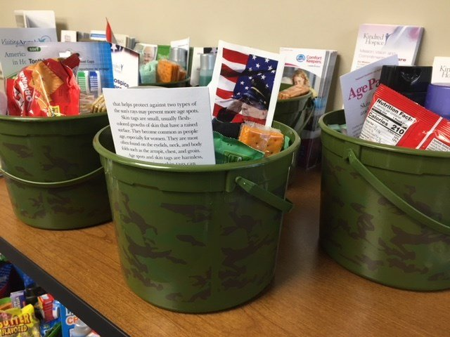 Upstate organizations collected Easter baskets to deliver to disabled veterans (FOX Carolina: 3/27/2018).