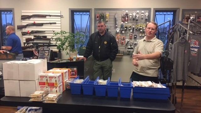 Rep. Steven Long's shooting event in Spartanburg. (3/27/18 FOX Carolina)