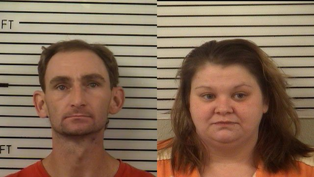 Michael Rice (left) and Brandi Morrow (right) (Source: Madison County Sheriff's Office)