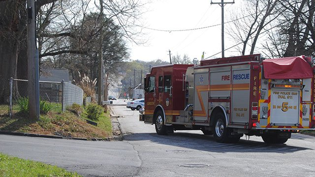 Crews on scene after delivery truck crashes into phone line, utility lines in Greer (Source: The Greer Citizen)