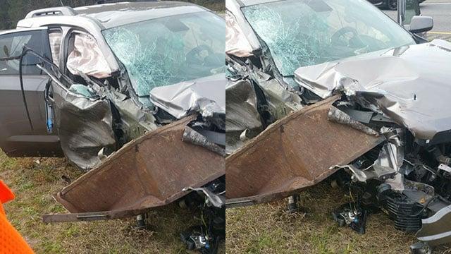 Scene of crash (Source: Javier Herrejon)