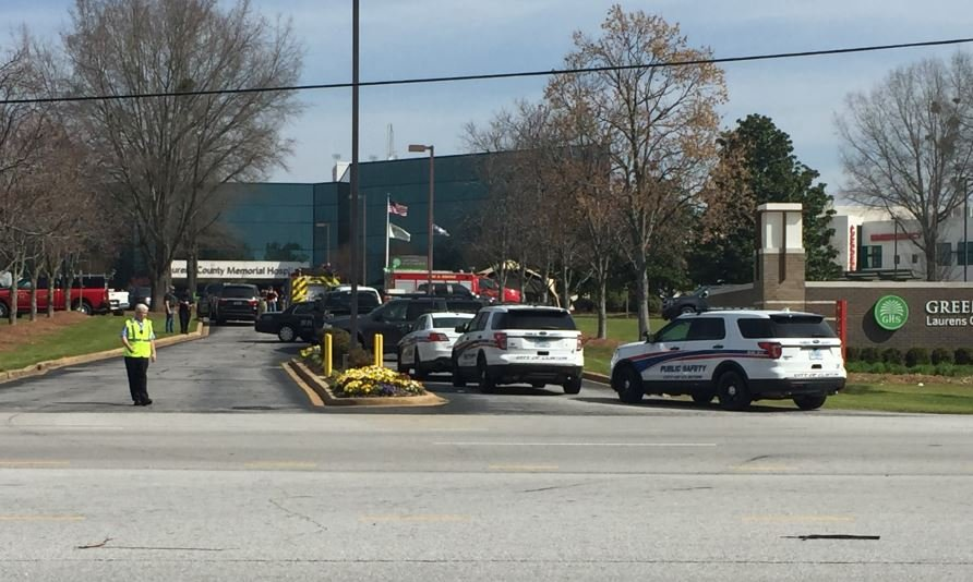 Laurens County Memorial Hospital evacuated after bomb threat (FOX Carolina/ March 29, 2018)