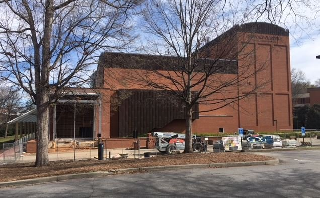 Brooks Center for the Performing Arts closed due to bats (FOX Carolina/ March 30, 2018)