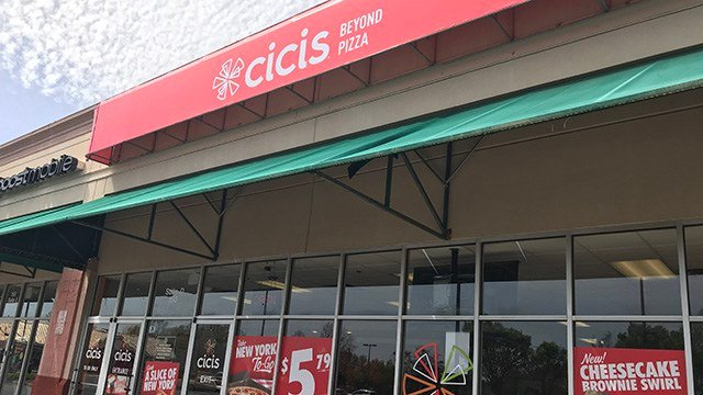 Cici's Pizza on E Black Stock Road. (4/1/18 FOX Carolina)