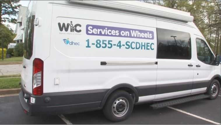 WIC Mobile Unit in Anderson, SC (FOX Carolina/April 4, 2018)