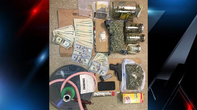 Evidence recovered during search warrant execution (Source: LCSO)