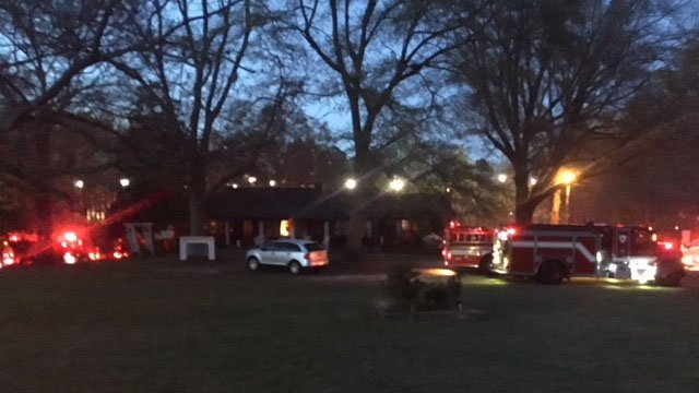 Barn destroyed in Spartanburg Co. fire (FOX Carolina/ 4/4/18)