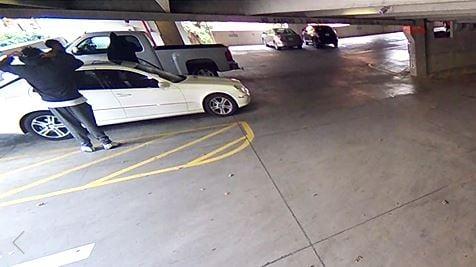 Surveillance video of the suspects (Source: Clemson PD)