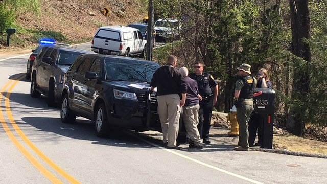 Crews searching for Dale Hunter. (FOX Carolina/April 5, 2018).