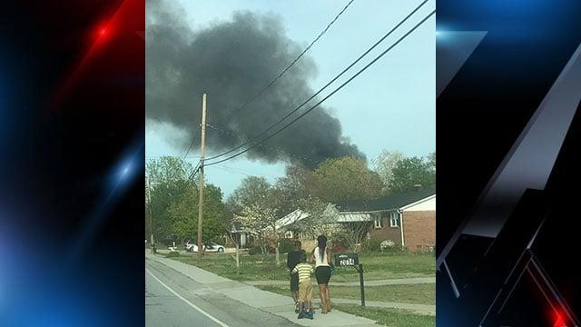 Crews respond to barn fire in Taylors (FOX Carolina/ 4/5/18)
