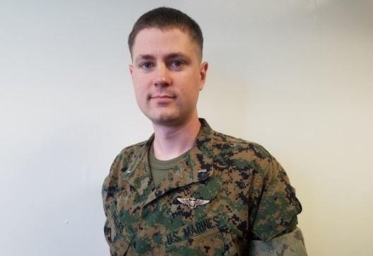 First Lt. Samuel D. Phillips (Source: USMC)