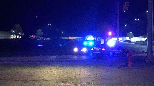 Scene of fatal Anderson Co. crash involving pedestrian (FOX Carolina/ 4/9/18)