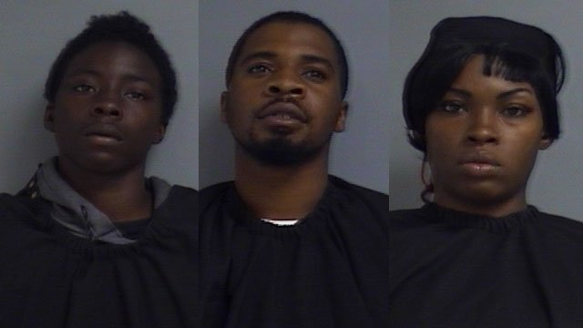 From left: Samuel Suber, Collin Tucker, Dezmond Tucker (Source: UCSO)