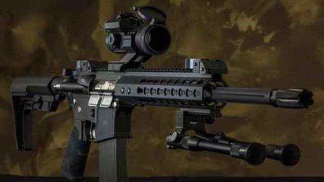 AR-15. (Source: AP Images)