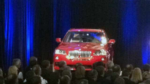 The 2 millionth BMW produced in the Upstate. (Jan. 12, 2012/FOX Carolina)