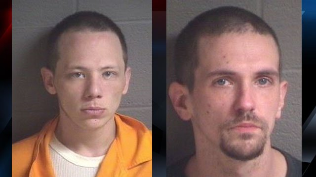From left: Charles Lorenzo Davis, Jesse Lynn Williams (Source: APD)