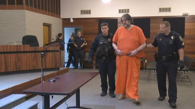Jason Butler appears in bond court (Apr. 10, 2018/FOX Carolina)