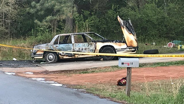 Multiple Fire Crews Respond To Car Fire In Greenville Co
