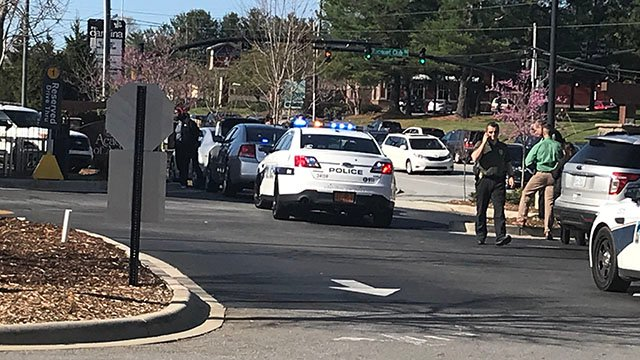 Police, deputies investigating situation at McDonald's in Asheville (Source: iWitness)