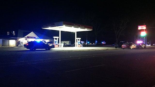Deputies investigating armed robbery in Piedmont. (FOX Carolina/ 4/14/18)