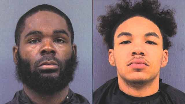 Willie Gill (left) and Damion Farr (right). (Source: Cherokee Co. Sheriff's Office).