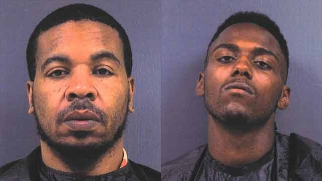 Christopher Feaster (left) and Travon Parker (right). (Source: Cherokee Co. Sheriff's Office)