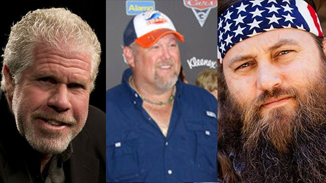 2018 celebs include Ron Perlman, Larry the Cable Guy, and Willie Robertson (Source: AP/ BMW Charity Pro-AM)