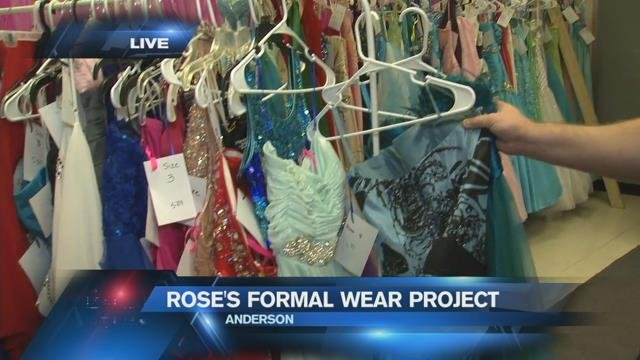 Upstate teen launches Rose Project to provide prom dresses to girls in need