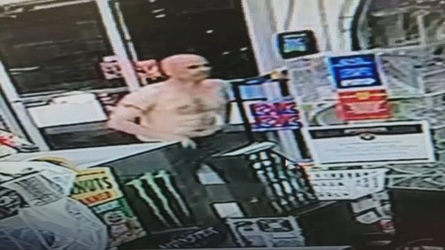 Deputies: Shirtless man steals multiple vehicles throughout the Upstate