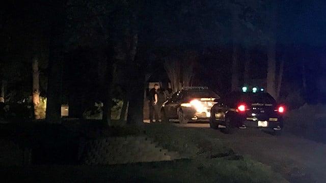 Scene of shooting in Marietta. (4/22/18 FOX Carolina)