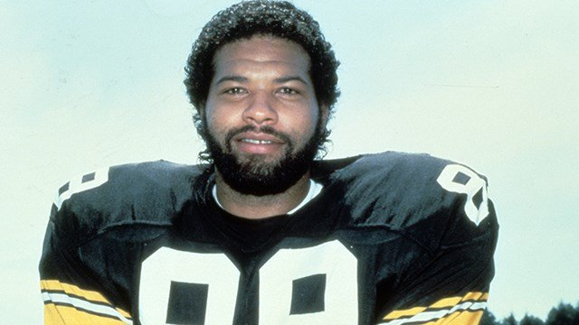 Pittsburgh Steelers tight end Bennie Cunningham (89) in 1984. (AP Photo/NFL Photos)