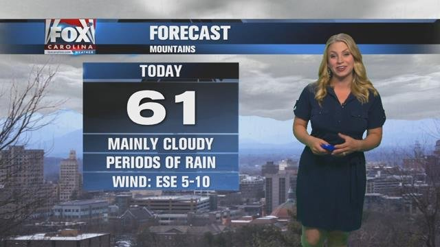 Nicole: Cloudy with some continuing showers Tuesday before more rain late week