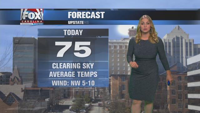 Nicole: Clearing, warmer Wednesday