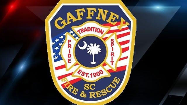 Gaffney Fire Dept patch (Source: Gaffney FD)