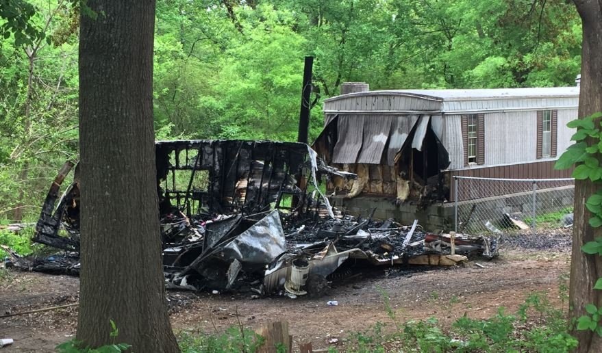 Scene of fires in Laurens County (April 26, 2018/ FOX Carolina)