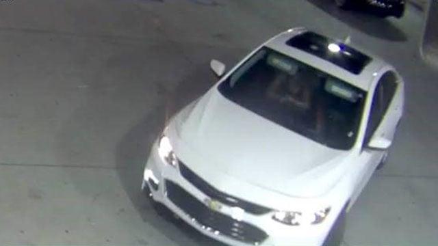 Suspect vehicle (Source: Simpsonville PD)
