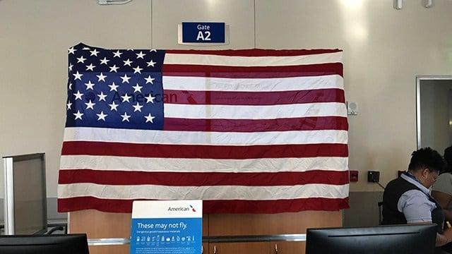 Honor Flight taking off from GSP. (4/28/18 FOX Carolina)
