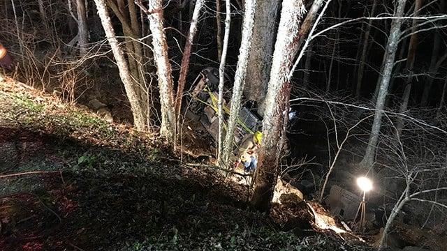 Scene on Blue Ridge Pkwy. (4/29/18 FOX Carolina)