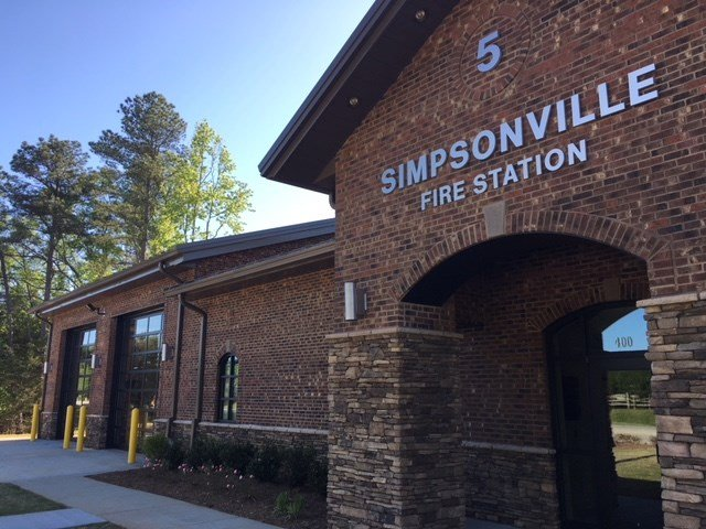 New fire station opens in Simpsonville (FOX Carolina/ April 30, 2018)