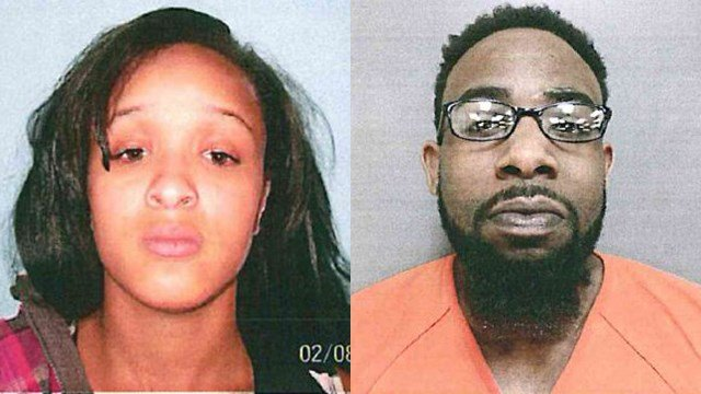 Aliyah Stewart and Randy Burnside Jr. (Source: Laurens PD)